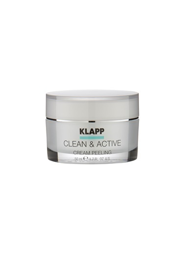 Klapp Clean&Active Cream Peeling 50 Ml Renksiz